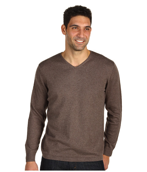 Bluze Tommy Bahama - Island Luxe V-Neck - Iced Coffee