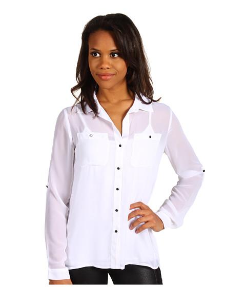 Bluze Kenneth Cole - Blouse w/ Layered Back - White