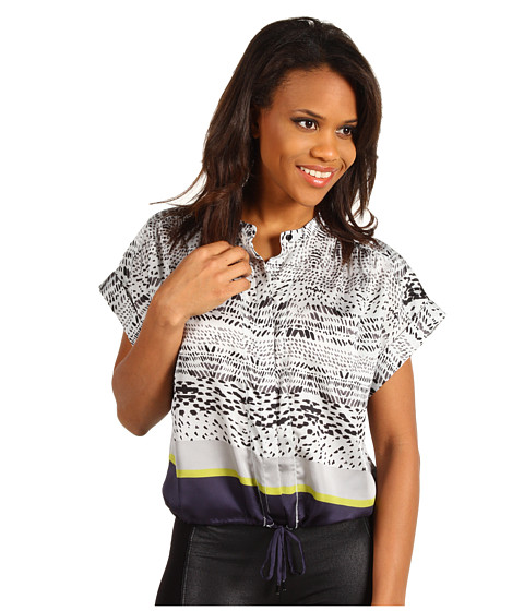 Bluze Kenneth Cole - Printed Blouse - Platinum Combo