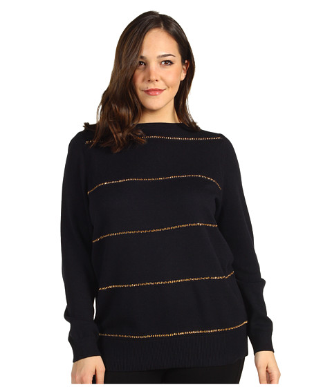 Bluze Michael Kors - Boatneck Sweater - Navy