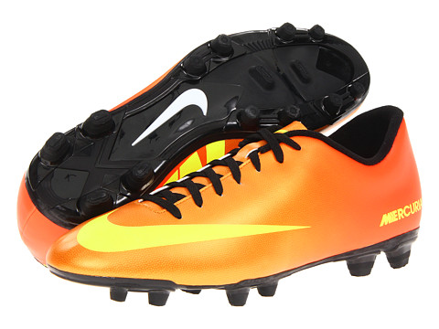 Adidasi Nike - Mercurial Vortex (FG) - Sunset/Volt/Total Crimson/Black