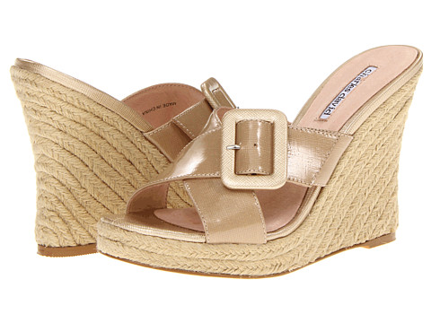 Sandale Charles by Charles David - Nelly - Camel Patent