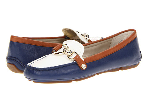 Balerini Anne Klein New York - Yetta - Blue/White/Brown Colorblock