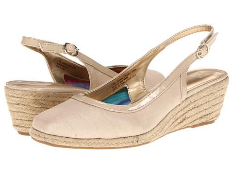 Pantofi Anne Klein New York - Gaelly - Champagne Linen