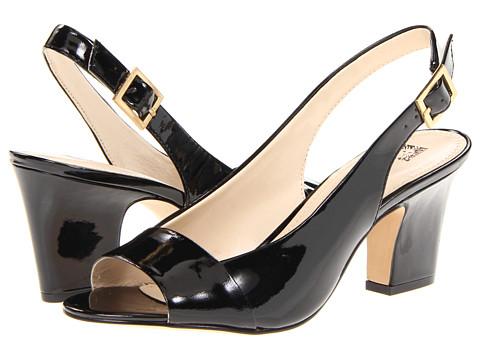 Pantofi Anne Klein New York - Ulema - Black/Black Patent