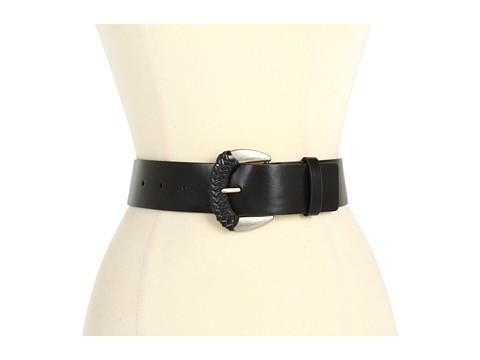 "Curele Jessica Simpson - Jessica Simpson 1 3/4\"" Jean Panel With Wrapped Buckle - Black"