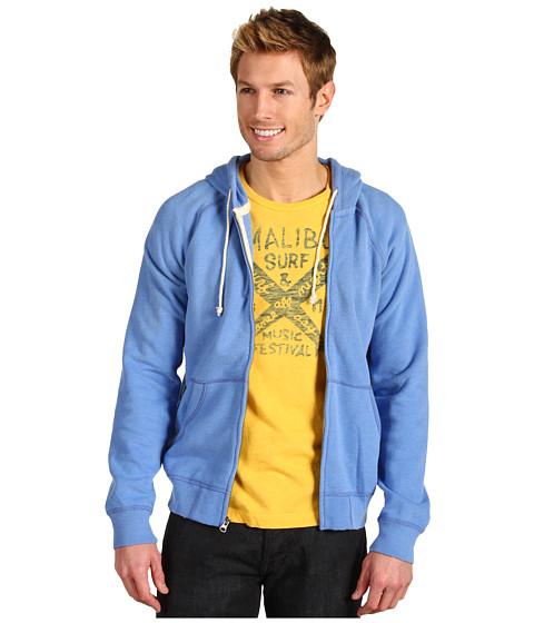 Bluze Lucky Brand - Full Zip Hoodie - Vintage Blue