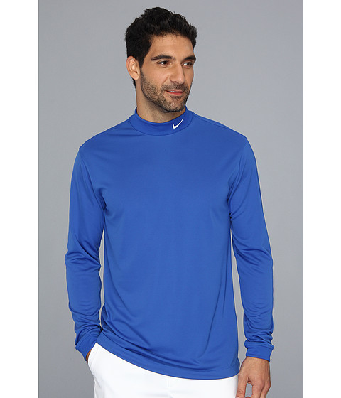 Bluze Nike - UV Nike Victory L/S Mock - Game Royal