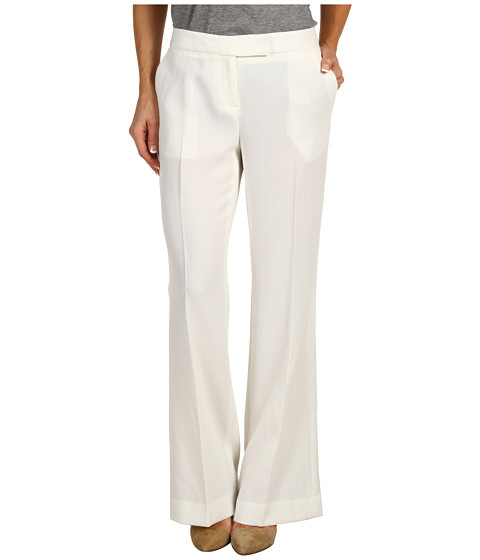 Pantaloni Anne Klein New York - Petite Extend Tab Pant - Porcelain
