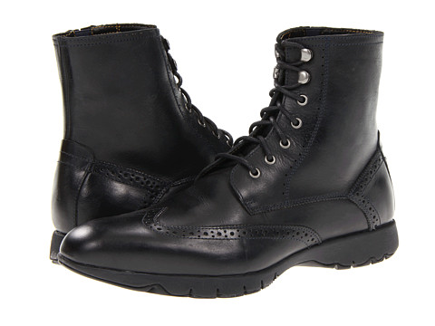 Ghete Hush Puppies - FIVE-Boot - Black Leather