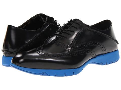 Pantofi Hush Puppies - FIVE-Brogue - Black Brush Off Leather