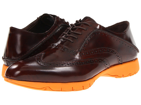 Pantofi Hush Puppies - FIVE-Brogue - Brown Brush Off Leather
