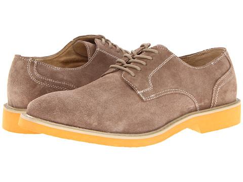 Pantofi Florsheim - Jeremy - Mushroom Suede/Orange Bottom