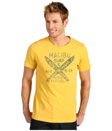 Tricouri Lucky Brand - Music & Surf Shirt - Yolk Yellow