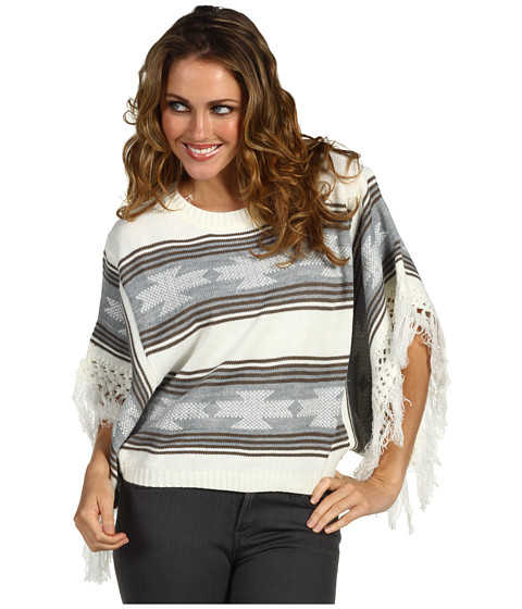 Pulovere Brigitte Bailey - Georgia Poncho - Grey