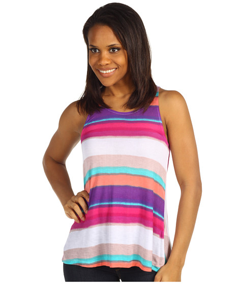 Tricouri Splendid - Watercolor Stripe Tank - Sugarcane