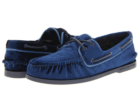 Pantofi Sperry Top-Sider - A/O 2-Eye Velvet - Navy
