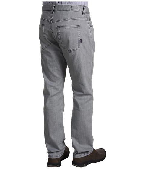 Pantaloni Patagonia - Straight Fit Organic Cotton Jean - Reg - Light Grey Wash