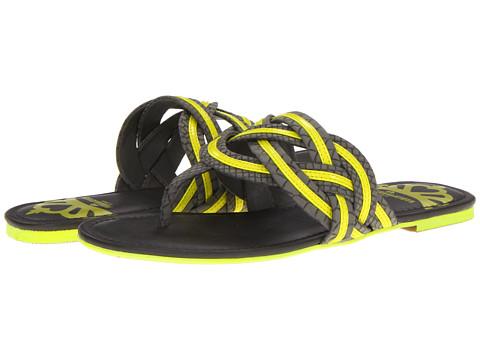 Sandale Fergalicious - Forgone - Grey/Neon Yellow