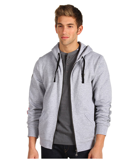 Bluze L-R-G - Core Collection Zip Up Hoodie - Ash Heather