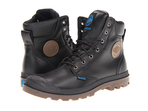 Adidasi Palladium - Pampa Sport Cuff WP - Black/Dark Gum