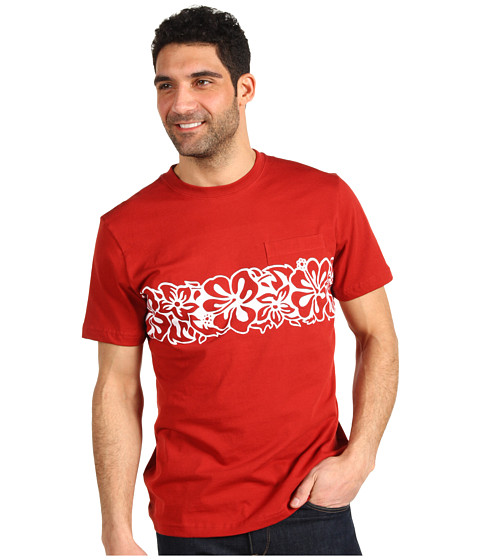 Tricouri Toes on the Nose - Hey Day S/S Tee - Burnt Red