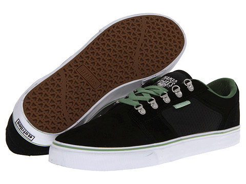Adidasi etnies - Makia Barge LS - Black/Green/White