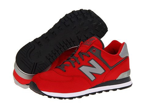Adidasi New Balance - ML574 Windbreaker - Red/Grey