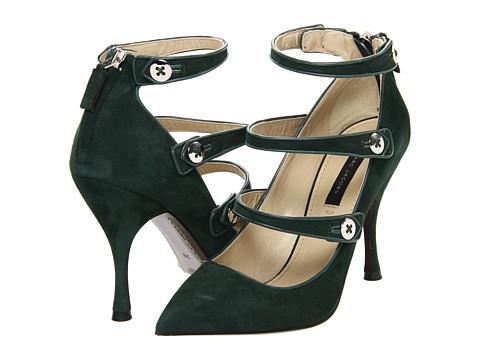 Pantofi Marc Jacobs - MJ19136 00153 421 - Forest/Sandy