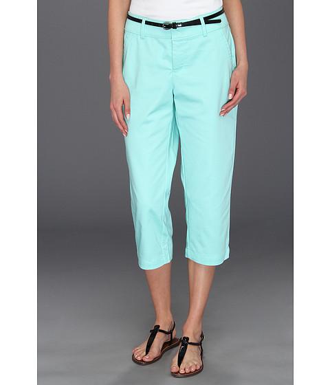 Pantaloni Dockers - Belted Capri w/ Hello Smooth - Solid - Beach Glass