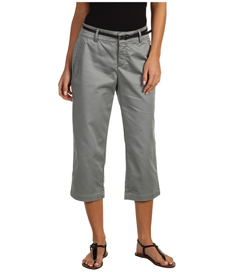 Pantaloni Dockers - Belted Capri w/ Hello Smooth - Neutral Grey
