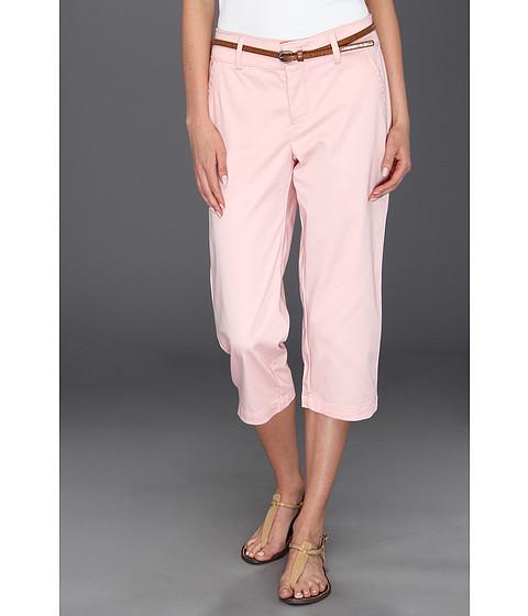 Pantaloni Dockers - Belted Capri w/ Hello Smooth - Solid - Pink Petal