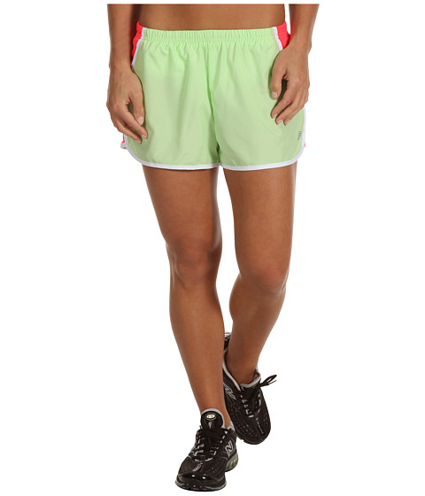 Pantaloni New Balance - Momentum Run Short - Paradise Green