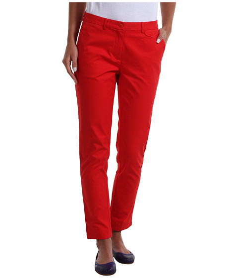 Pantaloni Fred Perry - Slim Cropped Chino - Red