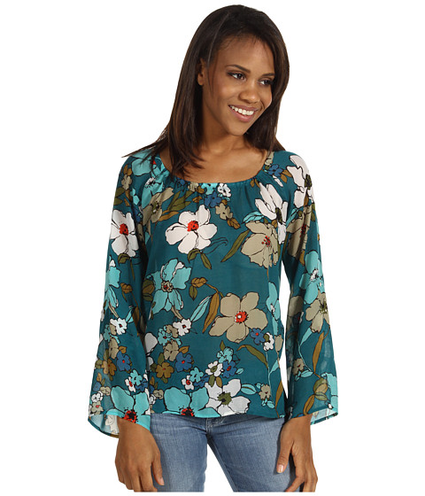 Bluze Tommy Bahama - Painted Gardenias Top - Largo Teal