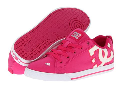 Adidasi DC - Court Graffik Vulc TX W - Crazy Pink/White