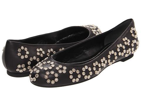 Balerini Alexander McQueen - Scarpa Pelle S. Cu Nappa Glove - Black