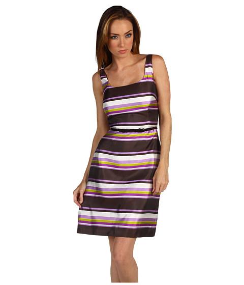 Rochii Kate Spade New York - Martie Dress - Chocolate Mousse/Casbah Stripe