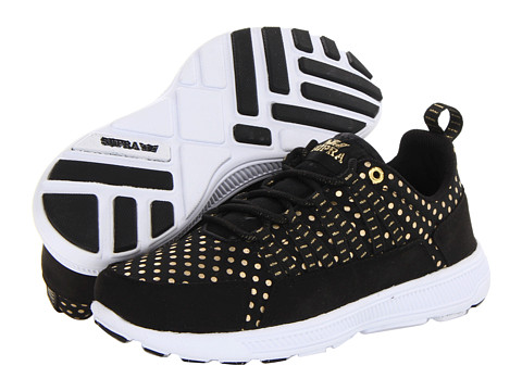 Adidasi Supra - Owen - Black/Gold/White