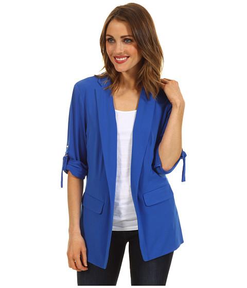 Sacouri Calvin Klein - Long Soft Jacket - Ultramarine