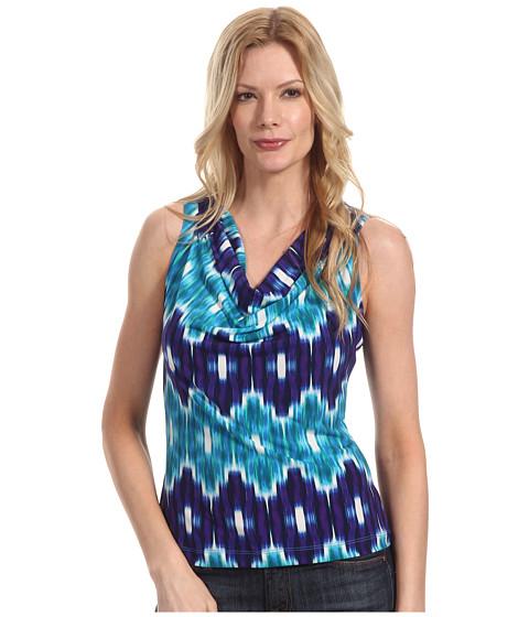 Tricouri Calvin Klein - Matte Jersey Drape Neck Printed Cami - Multi