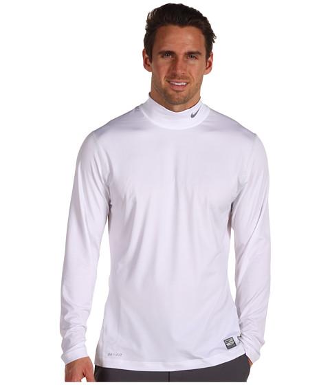 Bluze Nike - Core Under Layer Mock - White