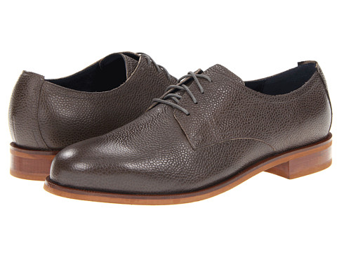 Pantofi Cole Haan - Carter RBR Plain Oxford - Charcoal Grain