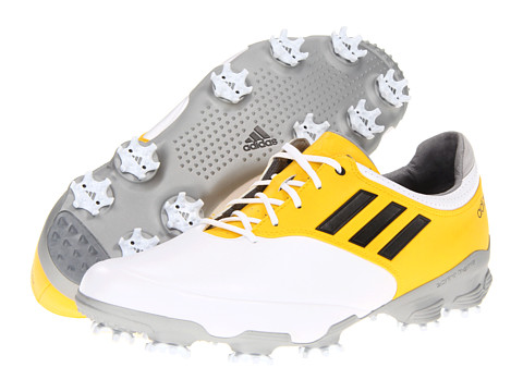 Adidasi adidas - adiZERO Tour - Running White/Black/Vivid Yellow
