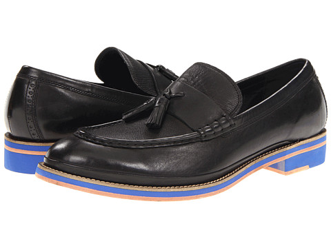 Pantofi Cole Haan - South ST Tassel - Black/Cobalt