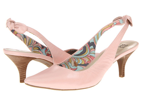 Pantofi Anne Klein New York - Ivette - Dawn Leather/Light Pink Leather