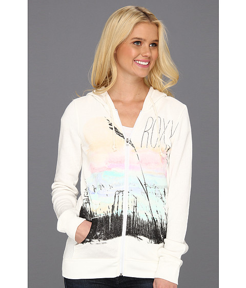 Bluze Roxy - White Sky Hoodie - Sea Spray White