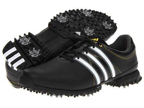 Adidasi adidas - Tour360 Lite 7 - Black/Running White/Vivid Yellow