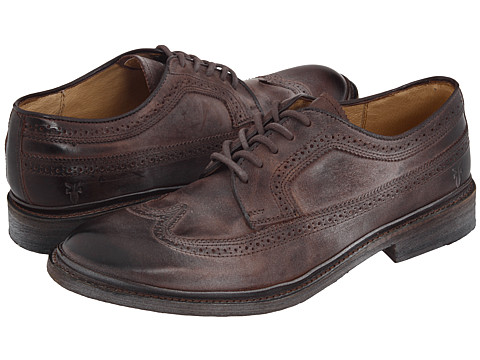 Pantofi Frye - James Wingtip - Brown