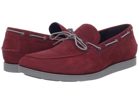 Pantofi Cole Haan - Air Mason Camp Moc - Deep Claret/Ironstone